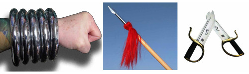 Chinese Kung Fu Weapons