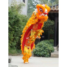 Chinese Lion Dance complete set Gold size 3