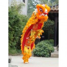 Chinese Lion Dance complete set Gold size 2